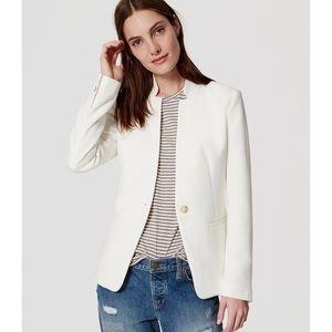Make an Offer! NWOT!  Loft | White Blazer